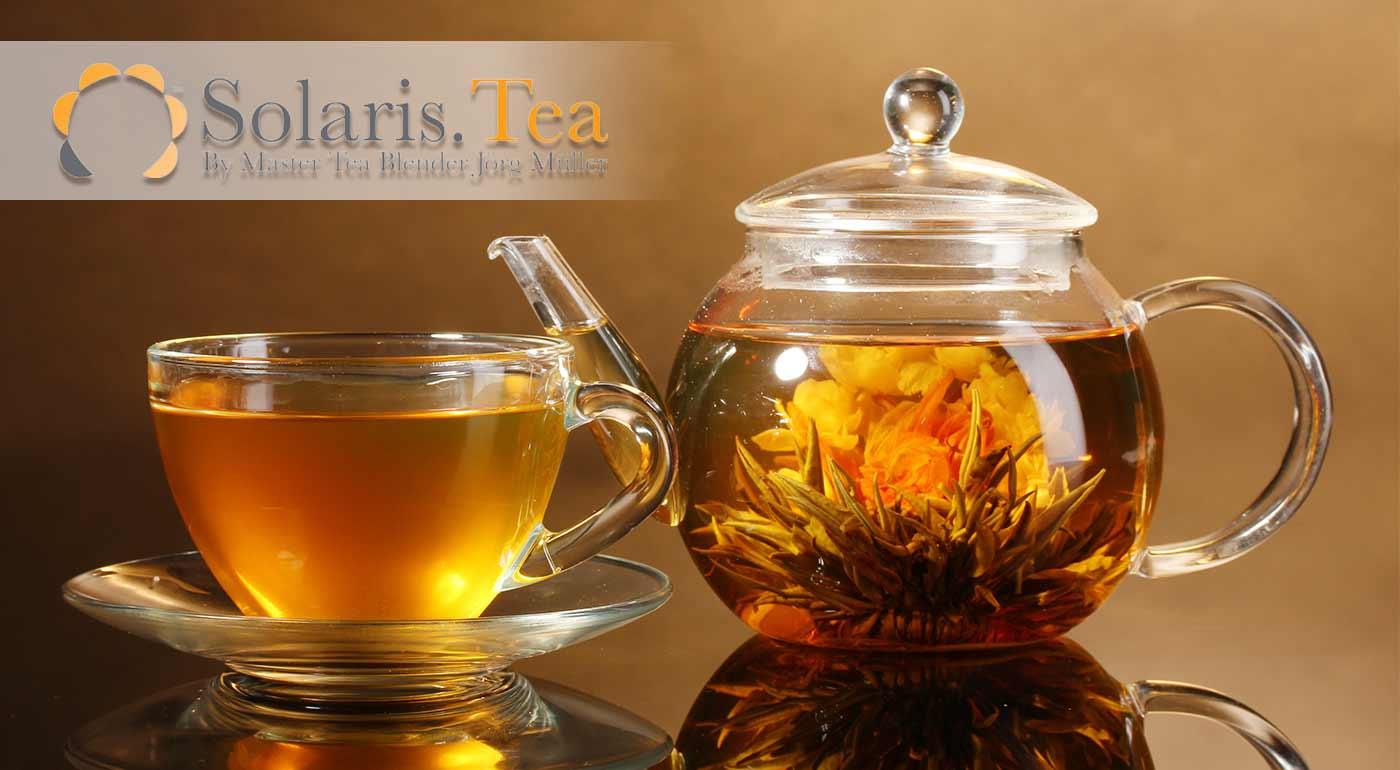 Exkluzívne kvitnúce čaje SOLARIS