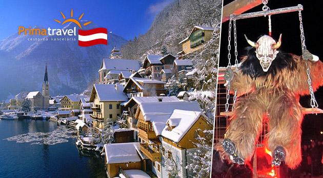 Beh čertov a čarovný adventný Salzburg - 2-dňový zájazd s CK Prima Travel