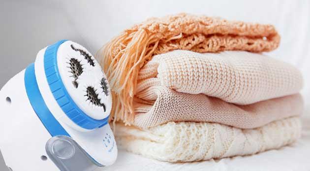 Nabíjací odžmolkovač oblečenia pre skvelý vzhľad vášho oblečenia