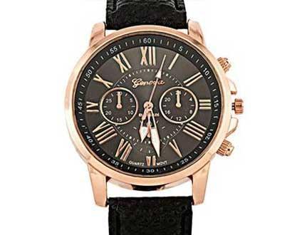 Dámske hodinky Geneva Platinum - farba čierna 38d9ae47f29