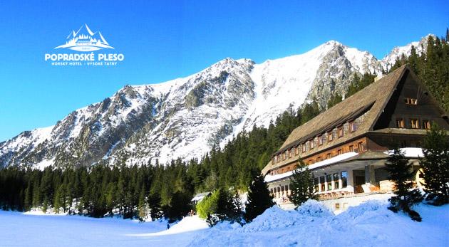 Relax v Tatrách v Horskom hoteli Popradské Pleso s plnou penziou. Posledný deň v ponuke!