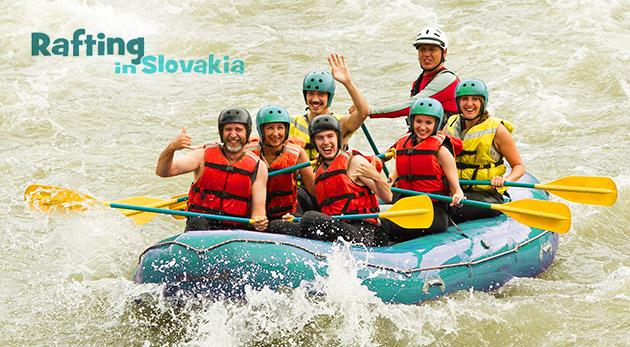Adrenalínový splav divokej rieky Belá s inštruktorom v trvaní 2 hodín