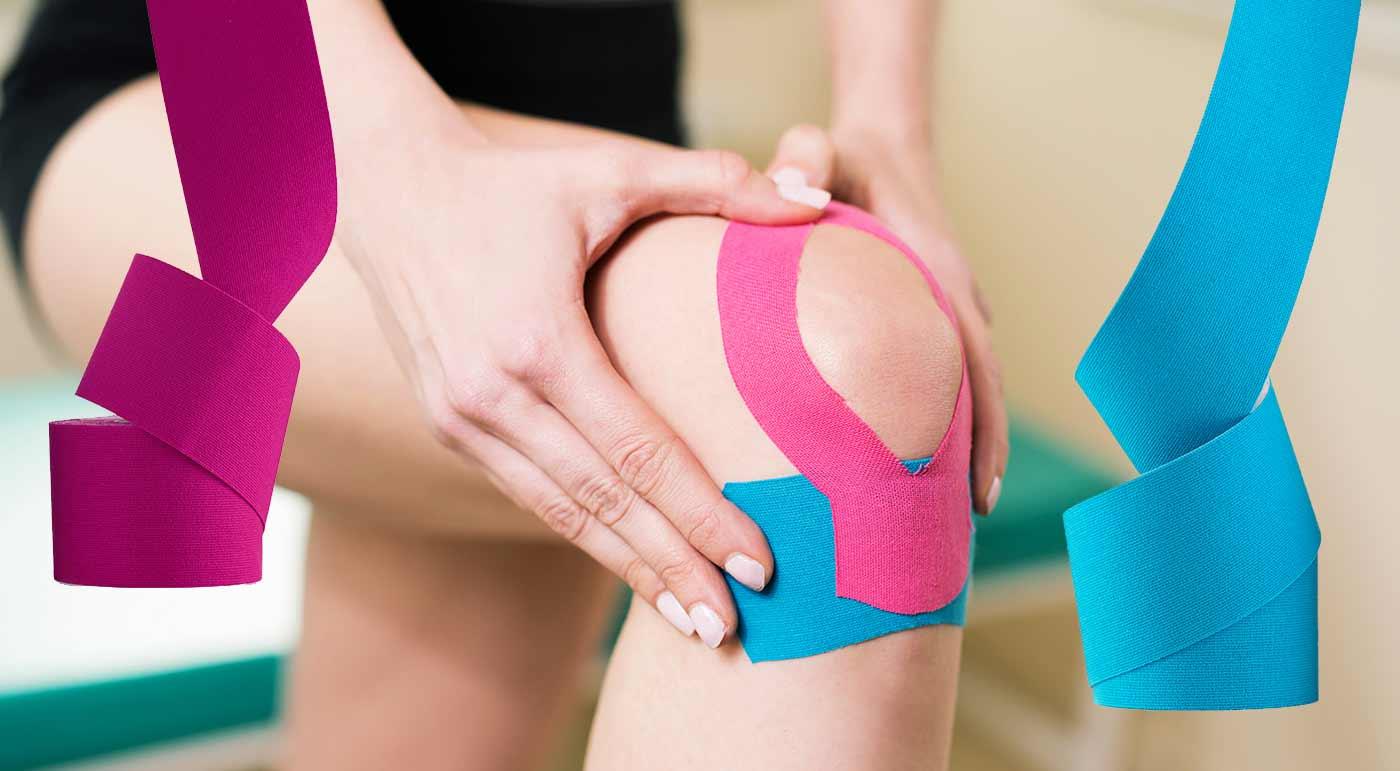 Tejpovacie pásky z bavlny proti bolestiam kĺbov, svalov či chrbtice