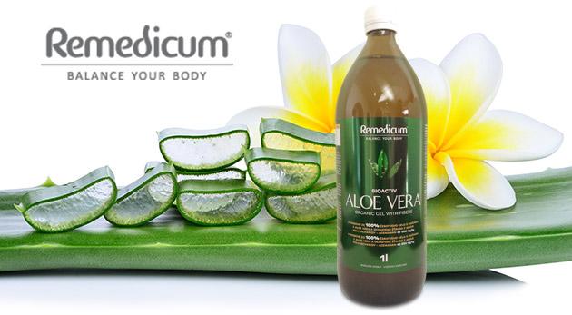 Výživový doplnok Aloe vera & agáve pre vašu imunitu - 1 liter