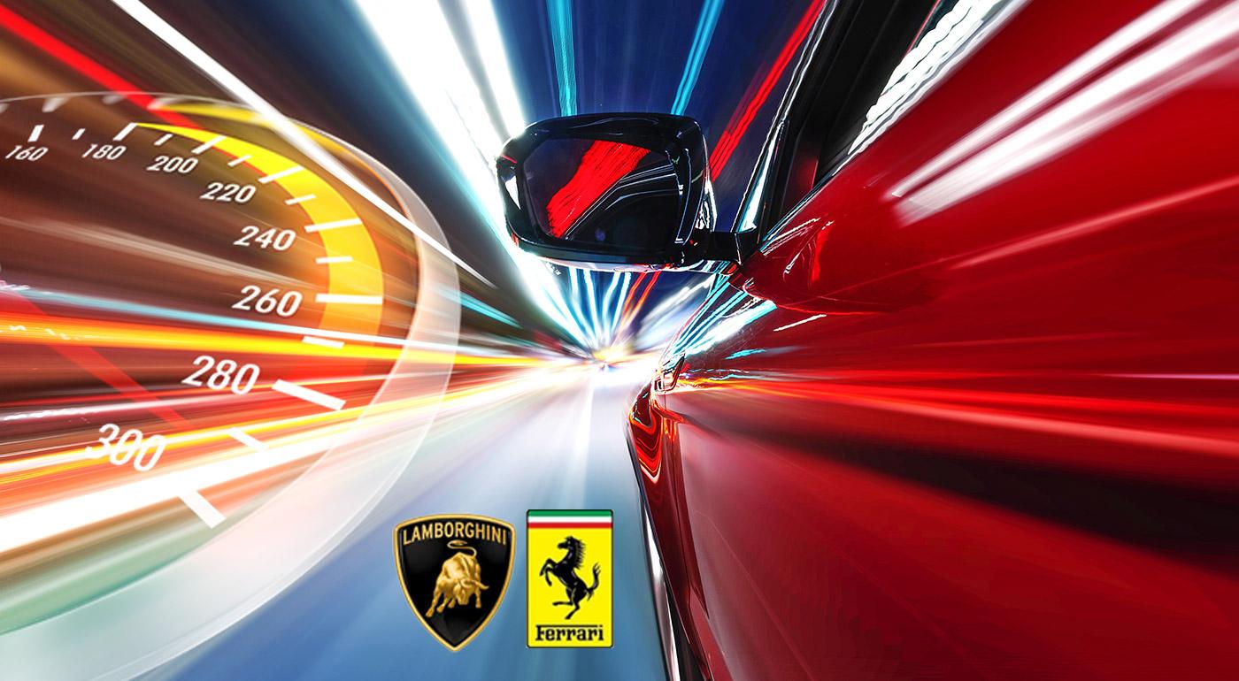 Rýchlo a zbesilo na najnovších športiakoch legendárnych značiek Ferrari a Lamborghini
