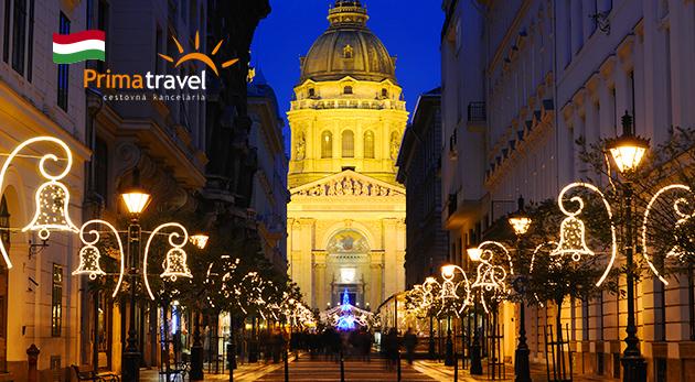 Výnimočná prehliadka Budapešti počas sviatkov
