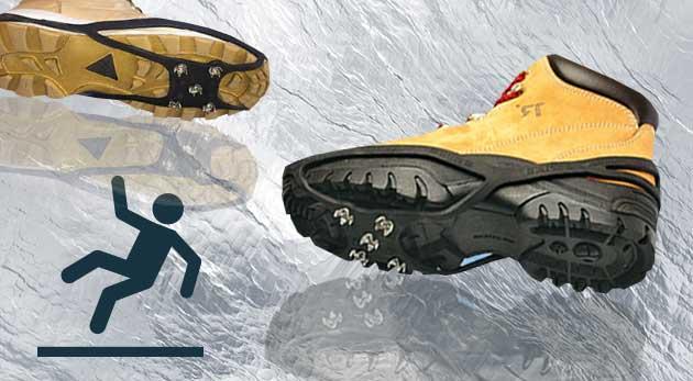 Kvalitné protišmykové návleky na obuv odolné voči mrazu