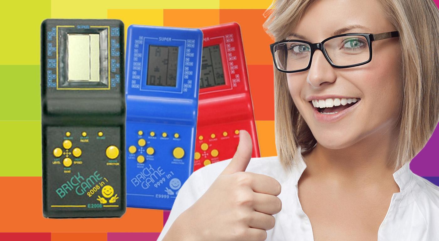 Hra Tetris - čierna farba za 2,99€