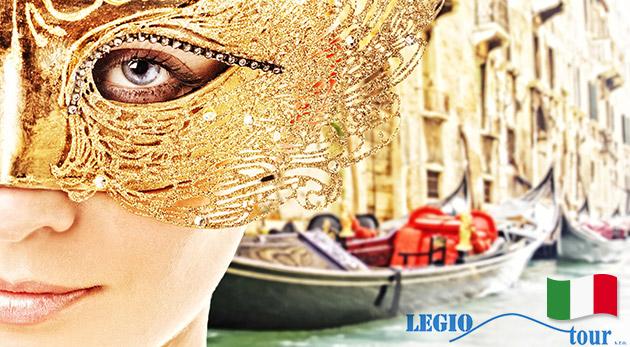 Prežite karnevalovú zábavu v Benátkach