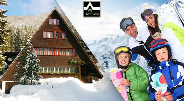 3 dni plné turistiky a lyžovania na Roháčoch vo Zverovke