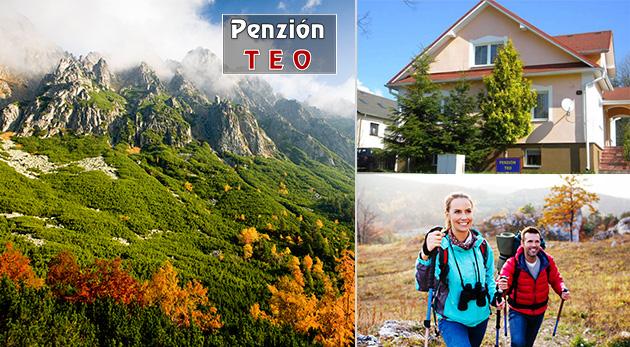 Relax v Penzióne Teo vo Vysokých Tatrách pre dvoch
