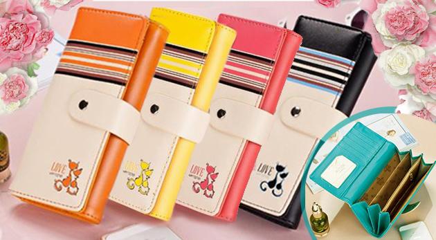 Dámska peňaženka v 7 farbách