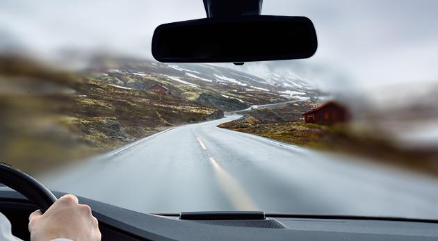 Praktická stierka na čistenie predného skla auta Windshield Wonder