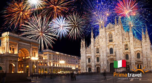 Nezabudnuteľný Silvester v nádhernom Miláne a Bergame