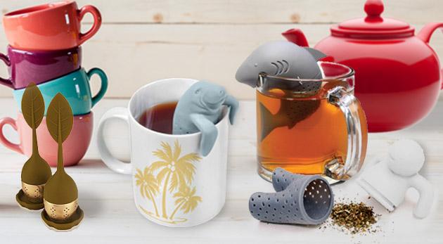Vtipné a originálne sitká na čaj