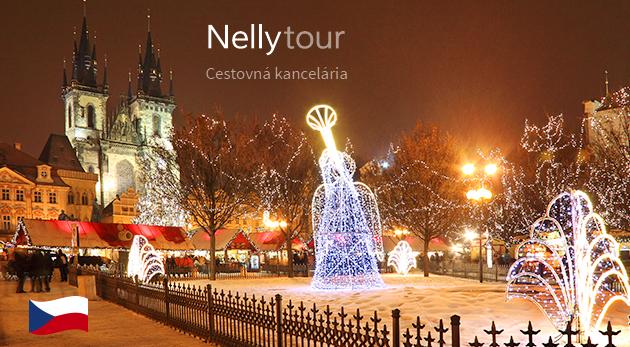 Vianočná Praha s ubytovaním a raňajkami - 2 dňový zájazd