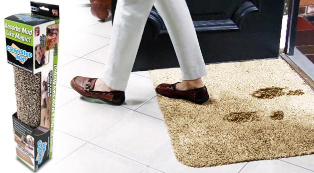 Účinná absorpčná rohožka pre Vašu čistú domácnosť