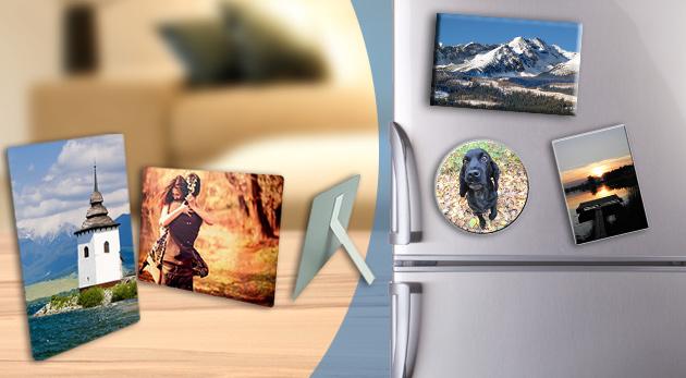 Originálne plechové magnetky a fotografie - na výber vo viacerých veľkostiach