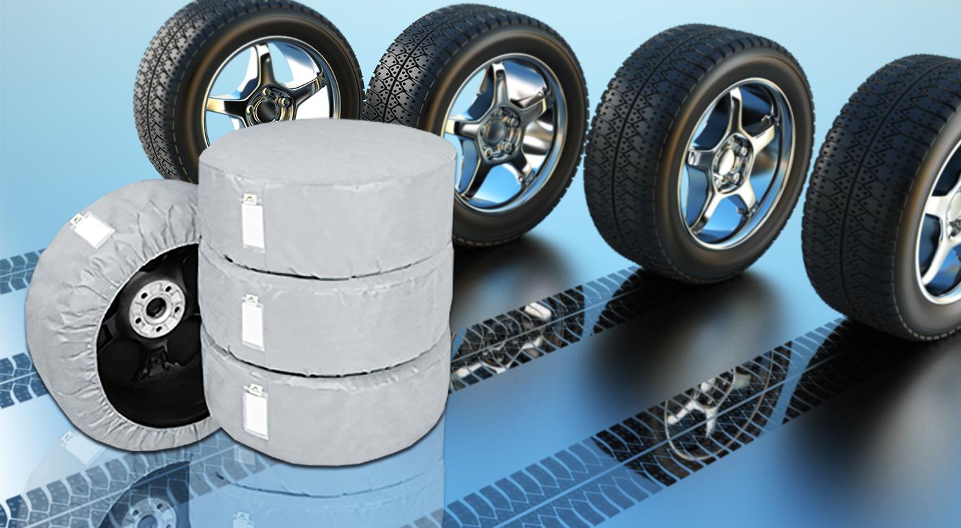 Ochranné obaly na pneumatiky - 4 kusy