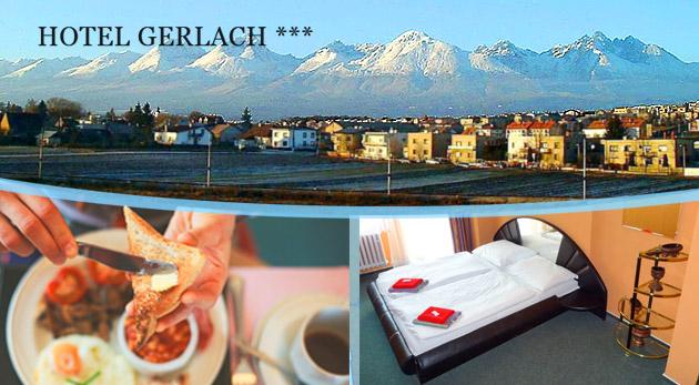 Jesenný oddych pri Vysokých Tatrách v Hoteli Gerlach*** v Poprade