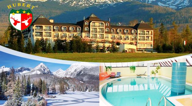 Jesenný pobyt v exkluzívnom Hoteli Hubert**** na úpätí Gerlachovského štítu s wellness
