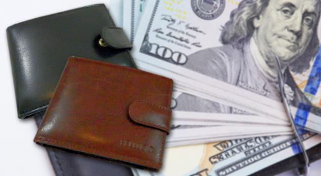 Kožená pánska peňaženka v dvoch farbách - elegantný doplnok každého muža