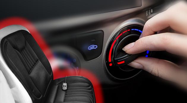Skvelá vyhrievacia podložka na cestovanie autom. Praktická pomôcka počas zimy pre vaše pohodlie!