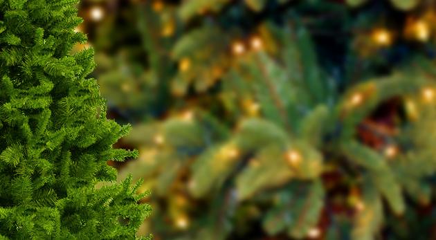 Umelý vianočný stromček jedlička alebo borovica s podstavcom a v rôznych veľkostiach