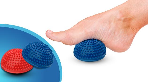 Uľava pre chodidlá s masážnym balančným ježkom