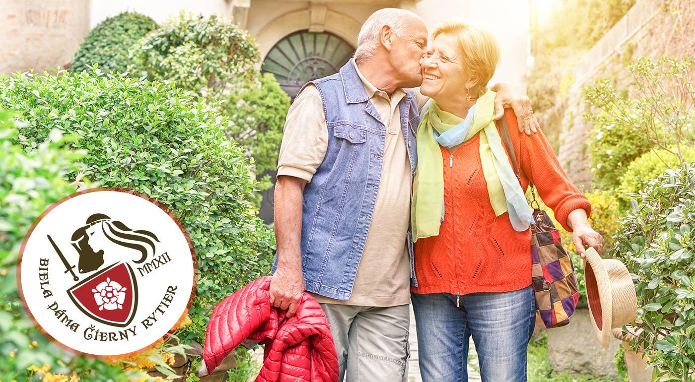 Romantický pobyt pre seniorov v historickom kaštieli Biela dáma a Čierny rytier na Spiši