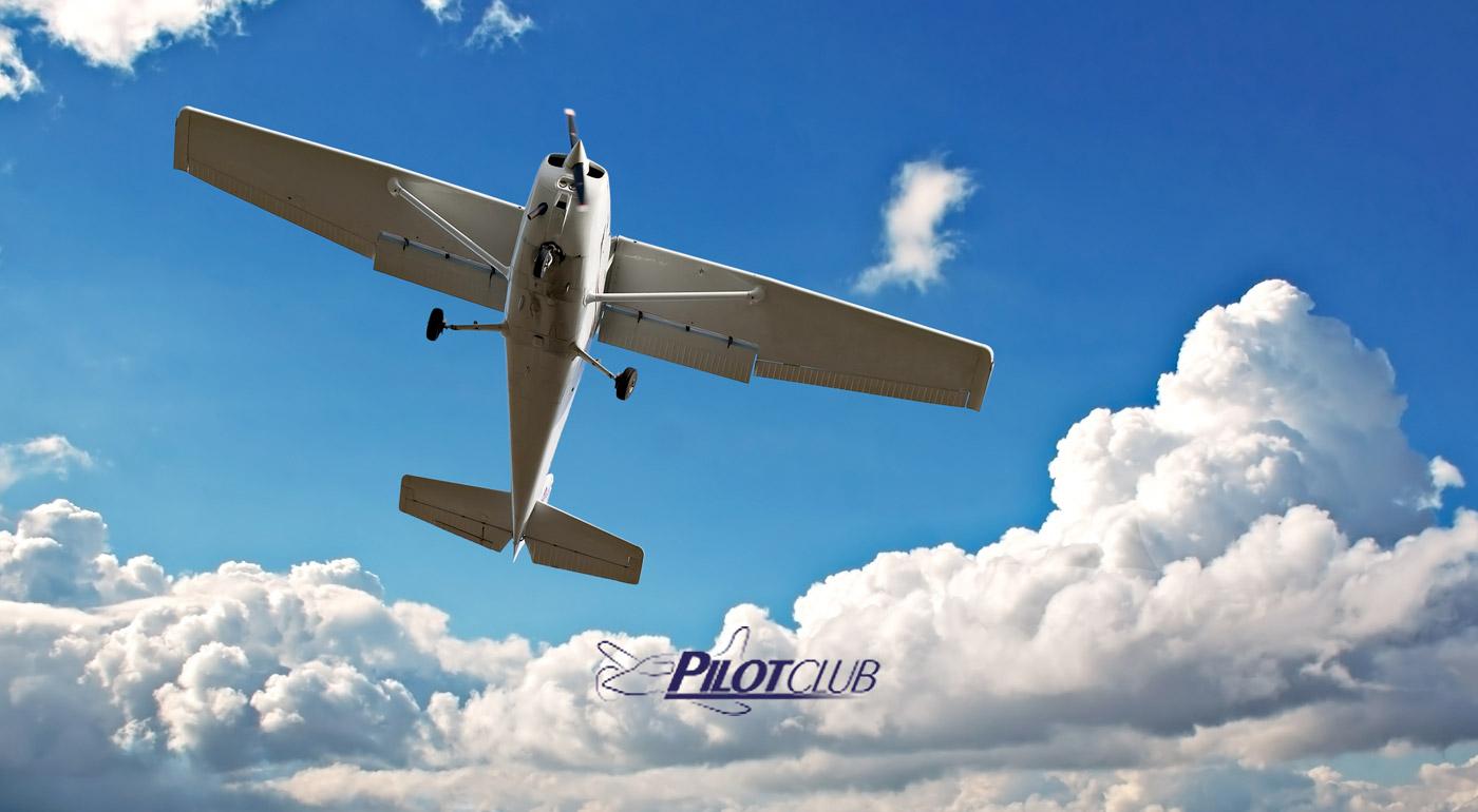 Pilotovanie športového lietadla na vami vybranej trase