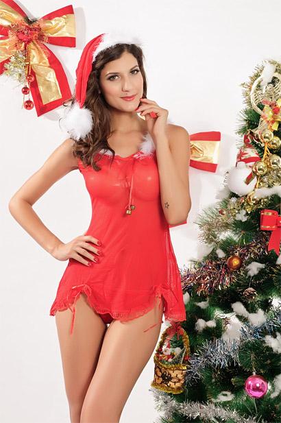 dámska vianočná košieľka