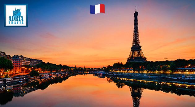 5 dňový silvestrovský zájazd do Paríža
