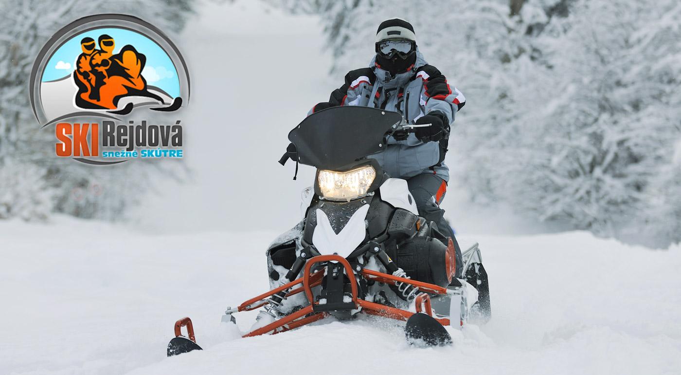 Jazda snežným skútrom pre deti i dospelých v okolí Slovenského rudohorí