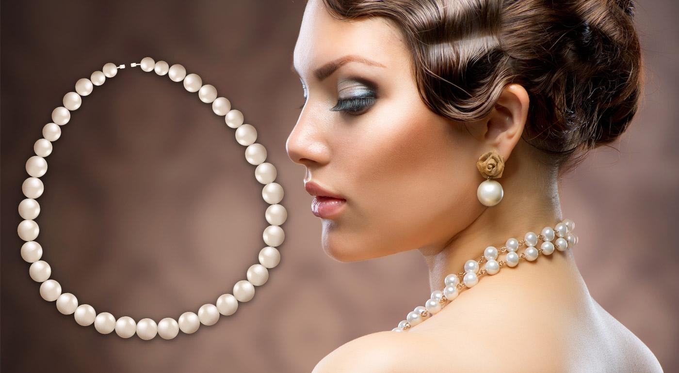 Náušnice alebo set šperkov z pravých sladkovodných perál