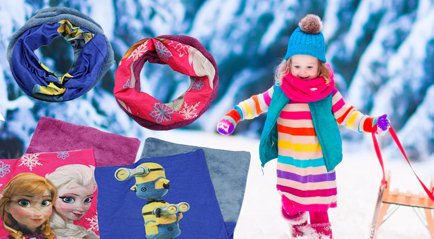 Nákrčník pre deti do chladného počasia