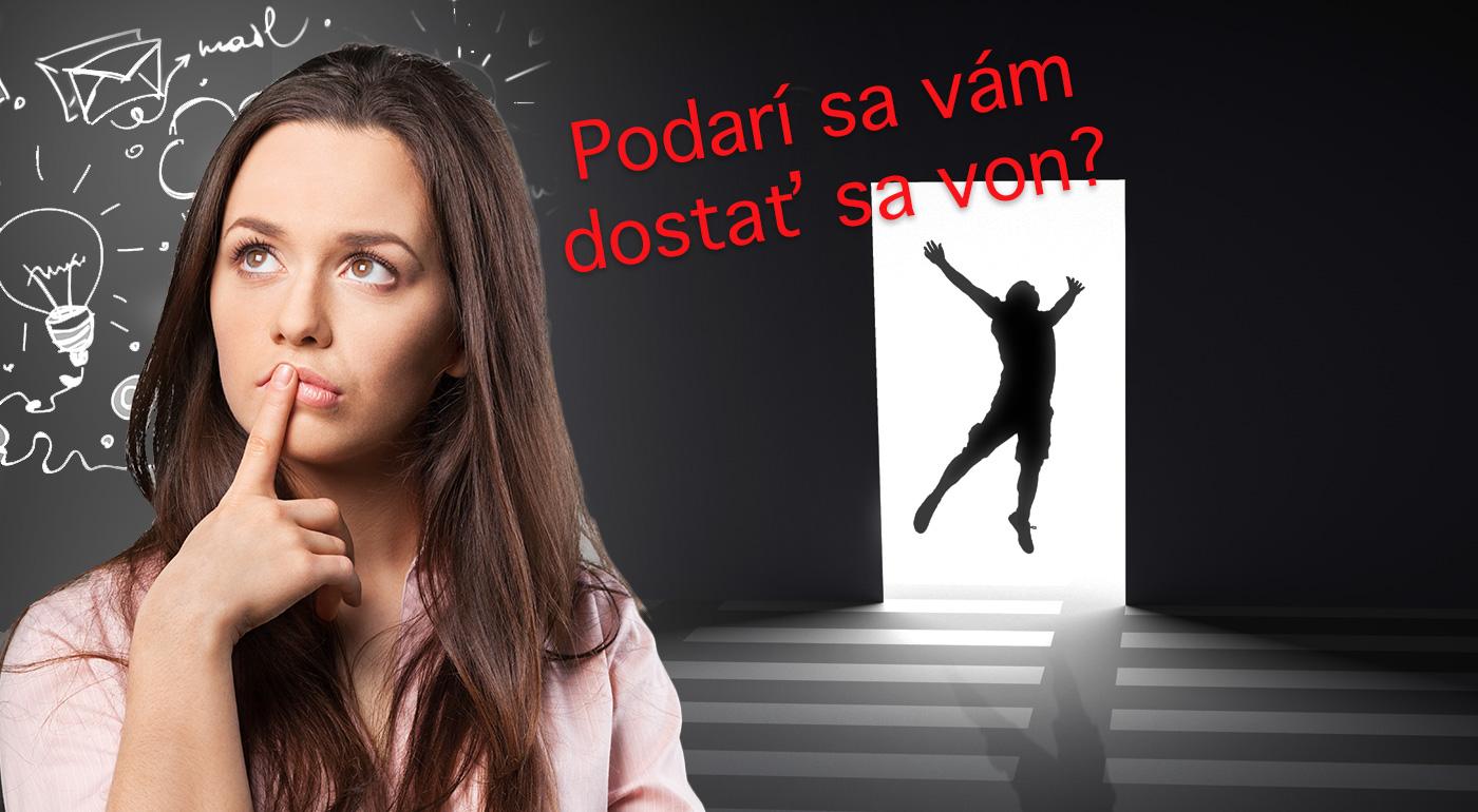 Obľúbená tímová hra v IQ room Banská Bystrica