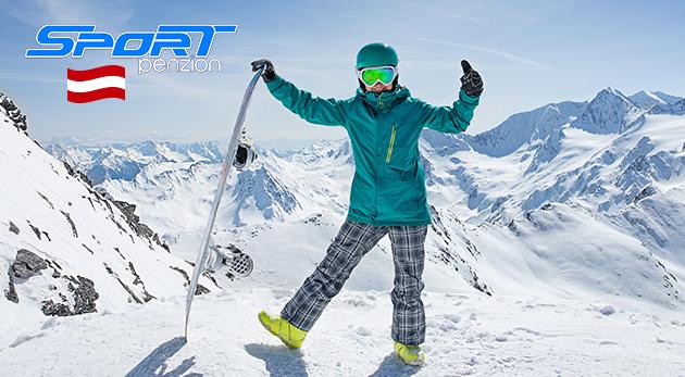 Fantastická lyžovačka v rakúskych Alpách so skvelým ubytovaním v Penzióne Sport Alpy, kde sa dohovoríte aj česky
