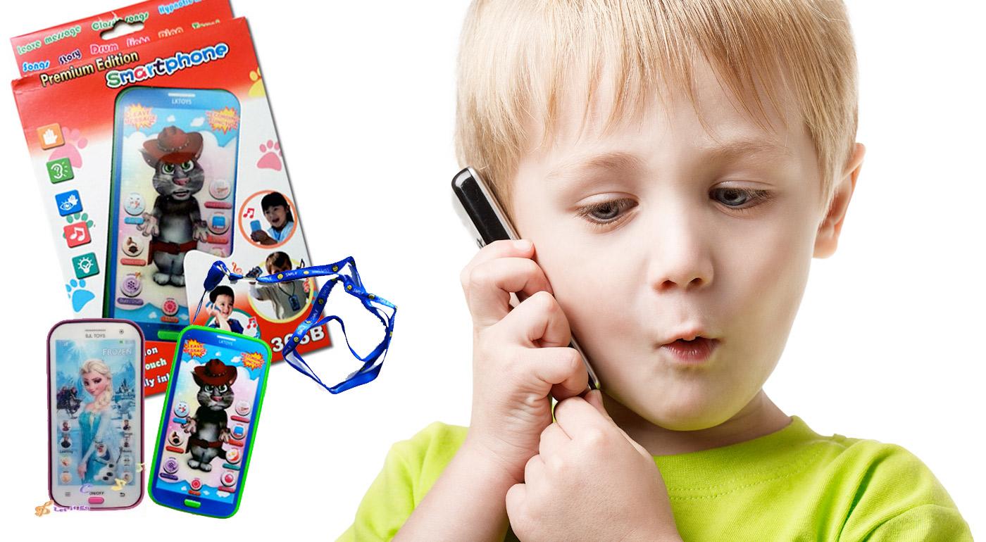 Detský mobilný telefón na výučbu angličtiny formou hry