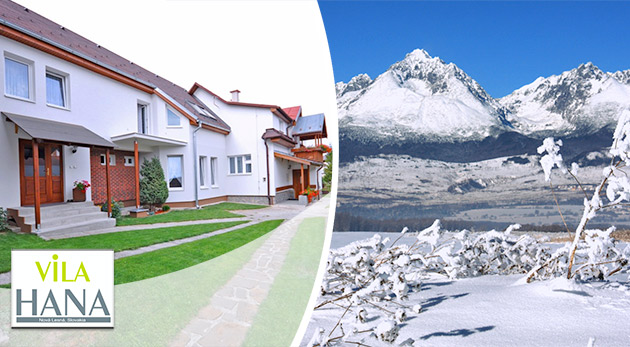 Zimná dovolenka vo Vysokých Tatrách - Vila Hana v Novej Lesnej