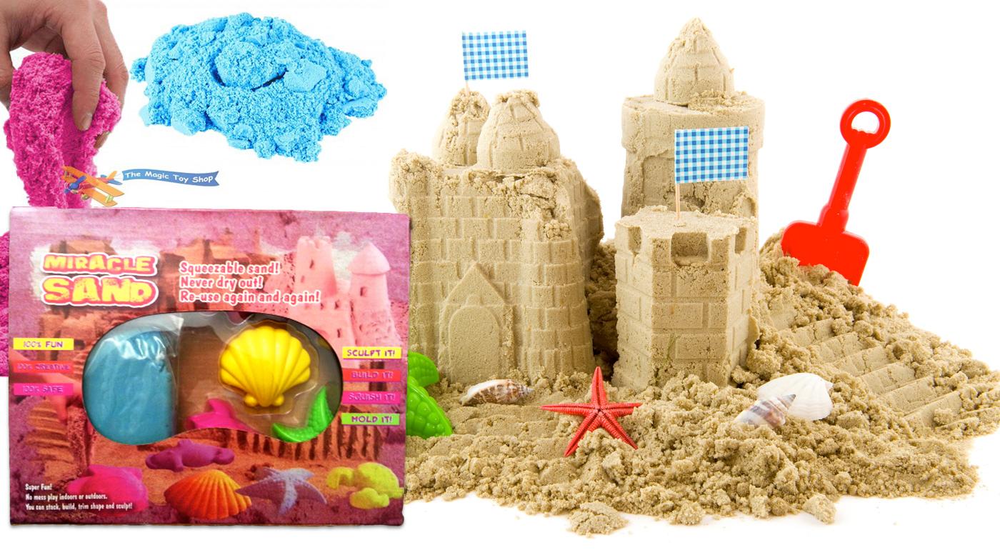 Skvelá hračka - tekutý piesok pre deti i dospelých, ktorý nikdy nevysychá