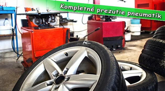 Prezutie pneumatík a kompletné vyváženie pre zimné i jarné prezutie. Platnosť kupónov do konca apríla 2013.