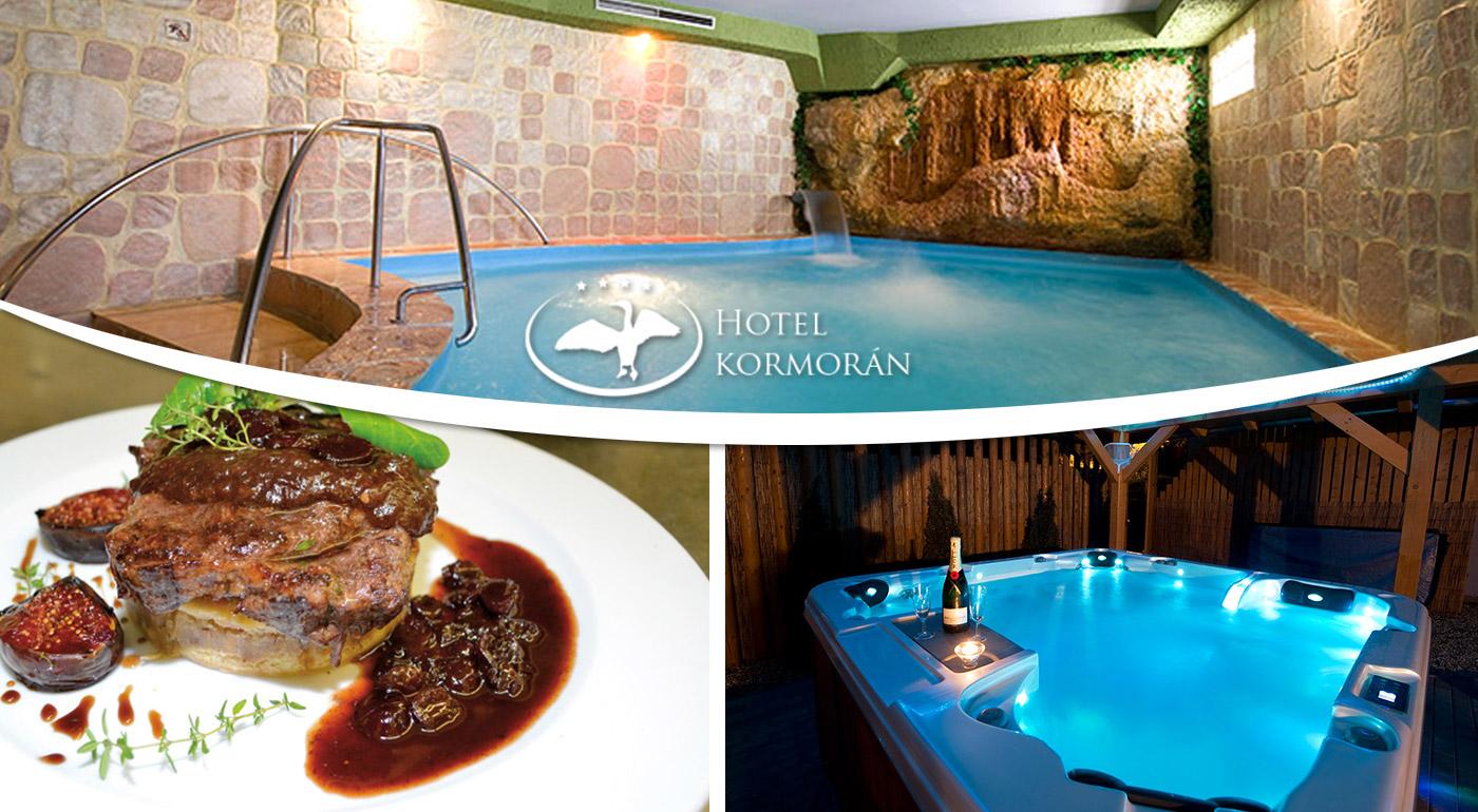 Romantický wellness pobyt neďaleko Bratislavy v Hoteli Kormorán**** v Šamoríne - Čilistove