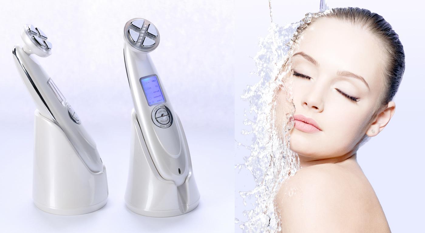 Elektrostimulačný kozmetický prístroj pre krajšiu a mladšiu pleť