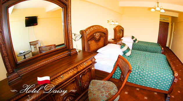 Hotel Daisy Superior*** v historickom prostredí Krakova