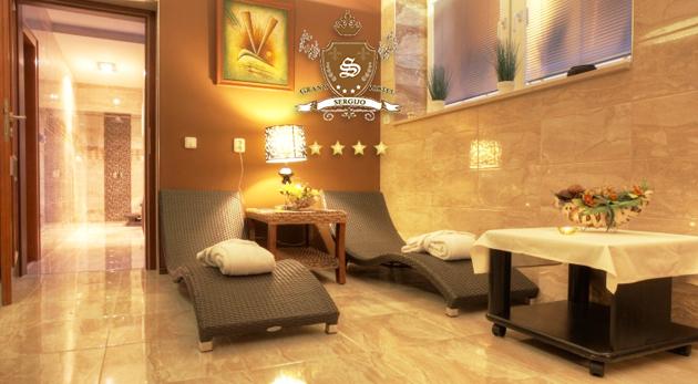 Vychutnajte si skvelý relax vo dvojici v GRAND HOTELI SERGIJO**** v kúpeľných Piešťanoch