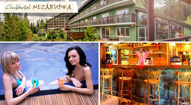 Venuša na Nezabudnutie - úžasný beauty pobyt pre dámy v Clubhoteli*** Nezábudka vo Vysokých Tatrách