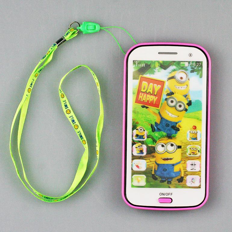 Detský mobil Mimoni - ružová farba