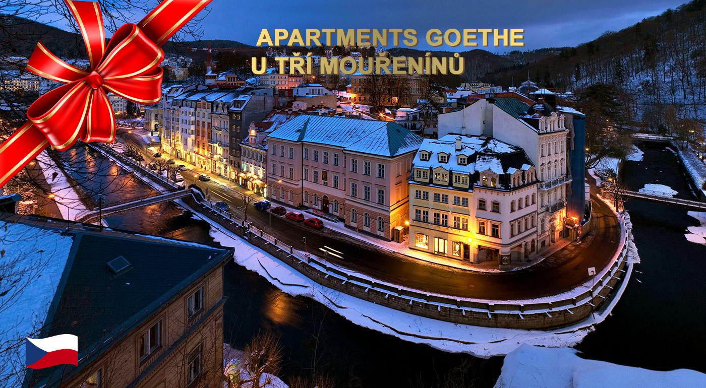 Apartmány Goethe v U Tří mouřenínů v kúpeľných Karlových Varoch