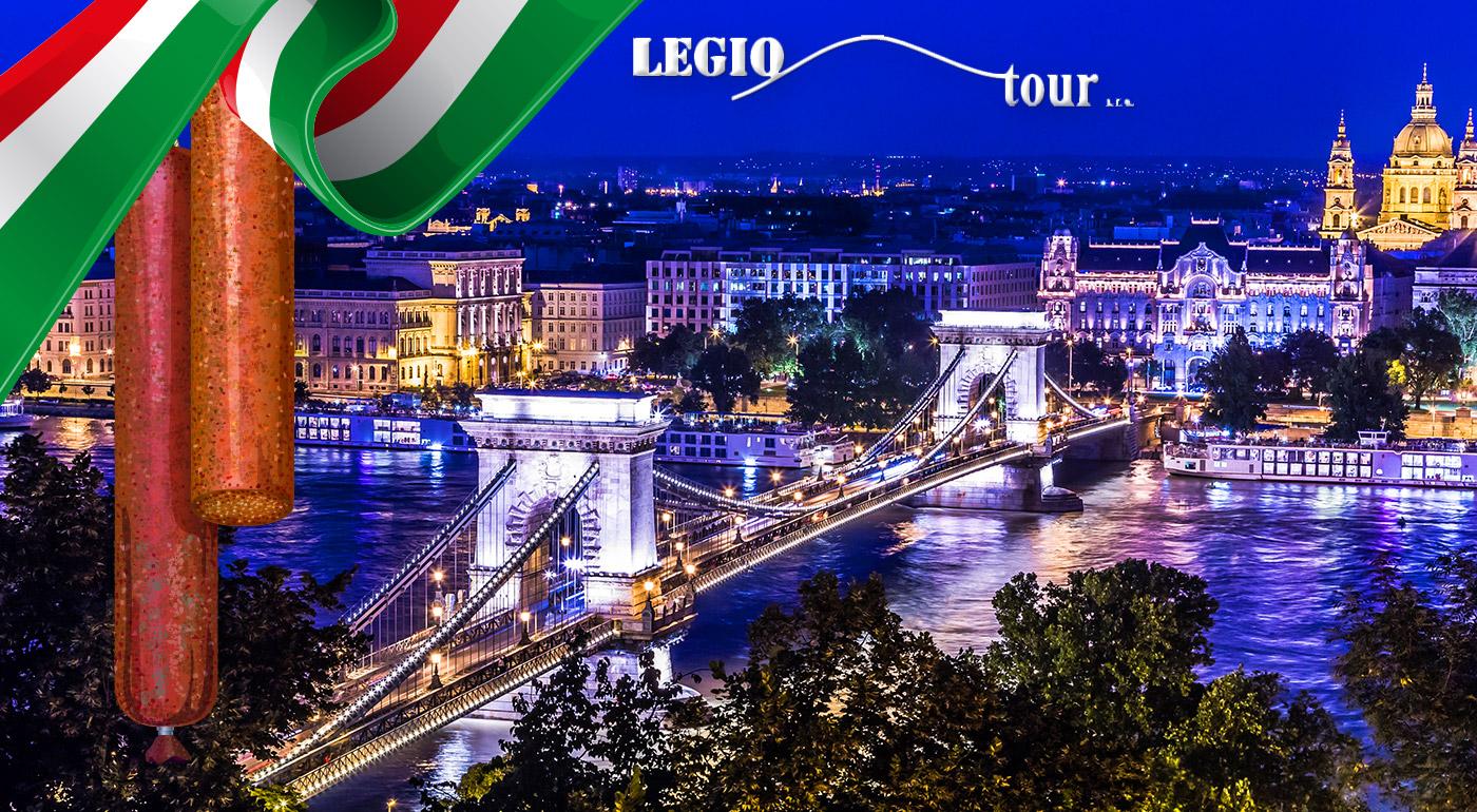 Prehliadka čarovnej Budapešti spojená s návštevou voňavého Festivalu Mangalice